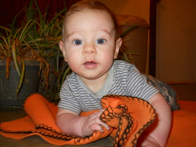 Samuel at 6 months old