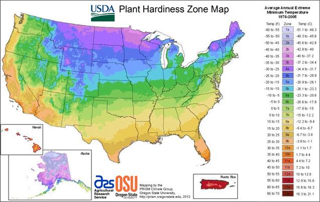 hardiness map